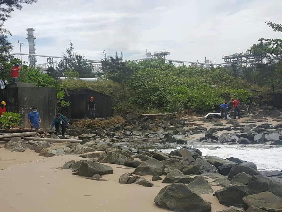 Oil Spill Sarawak
