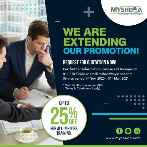 In-House Training Promotion